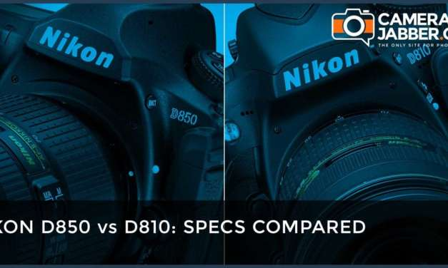 Nikon D850 vs Nikon D810: specifications compared