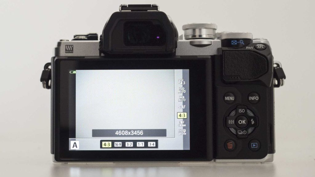 Olympus OM-D E-M10 MarkIII Review - Aspect ratio