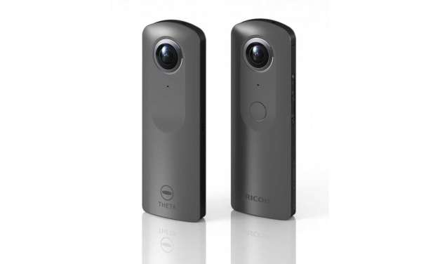 Ricoh Theta V firmware update boosts image quality in interval shooting
