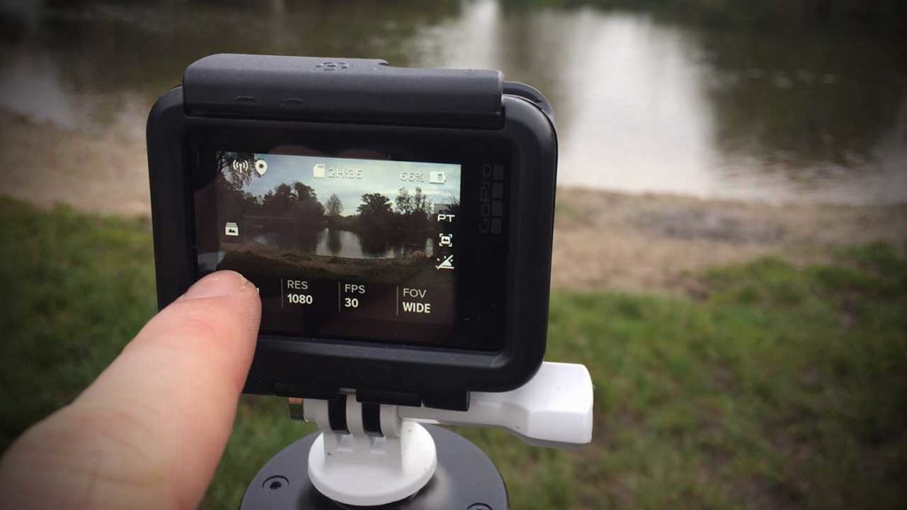 How to shoot a time lapse video with a GoPro Hero 6 Black Step 01