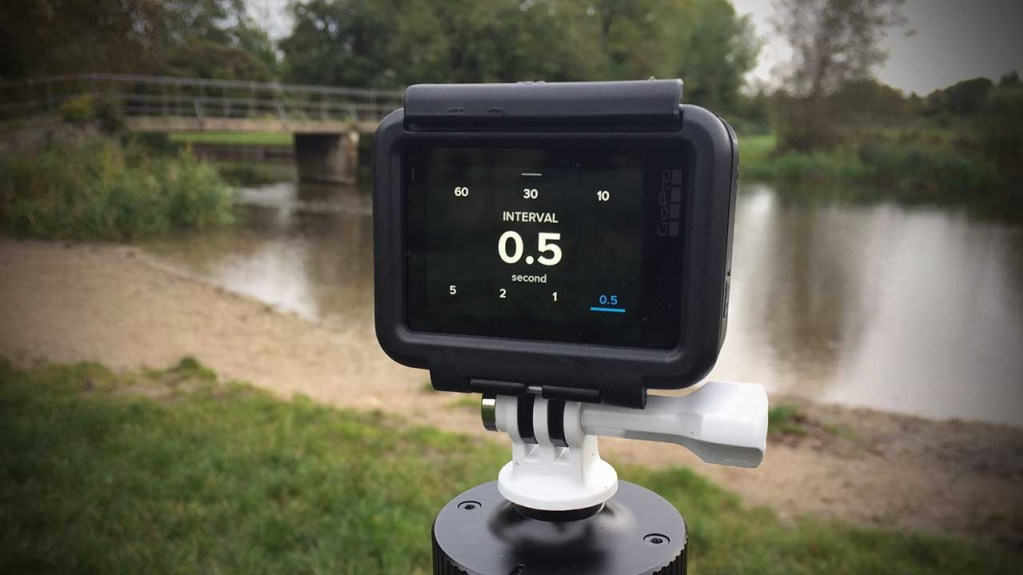 How to shoot a time lapse video with a GoPro Hero 6 Black Step 03