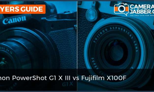 Canon PowerShot G1 X Mark III vs Fujifilm X100F