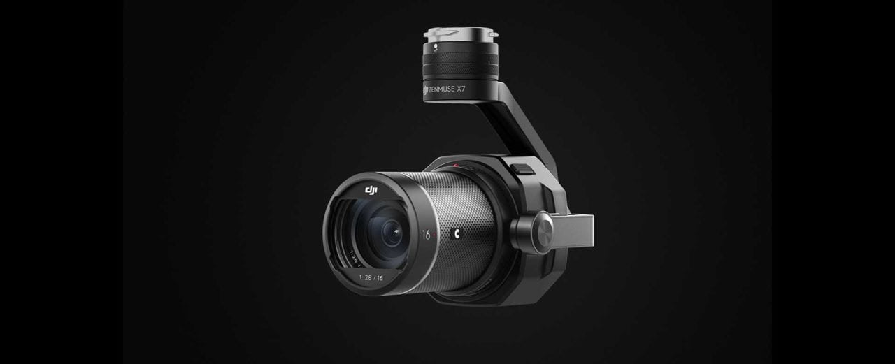 DJI updates Zenmuse X7 camera to support Apple ProRes RAW, 14-bit recording