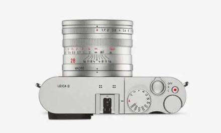 Leica debuts Q Silver