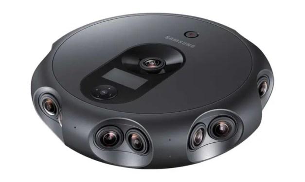 Samsung 360 Round boasts 17 lenses, 4K 3D live streaming