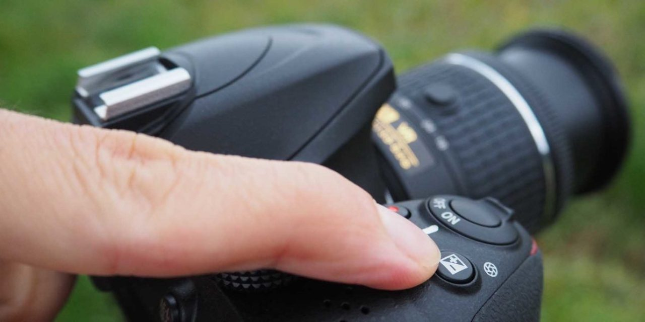 How to use exposure compensation on the Nikon D3400