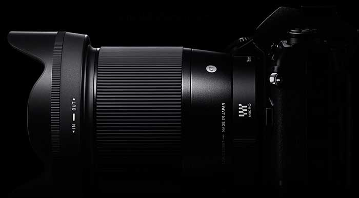 First images of new Sigma 16mm f/1.4 lens for all major mirrorless system mounts