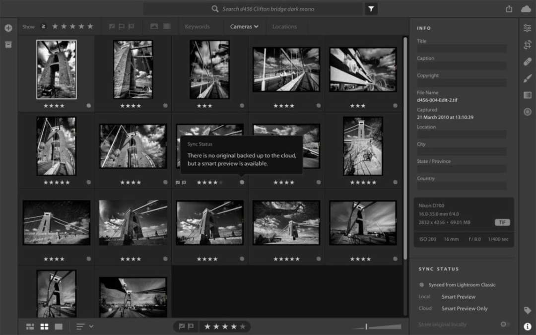 Lightroom CC vs Lightroom Classic: synchronising