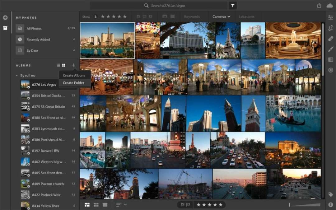 Lightroom CC vs Lightroom Classic: folders, collections and albums
