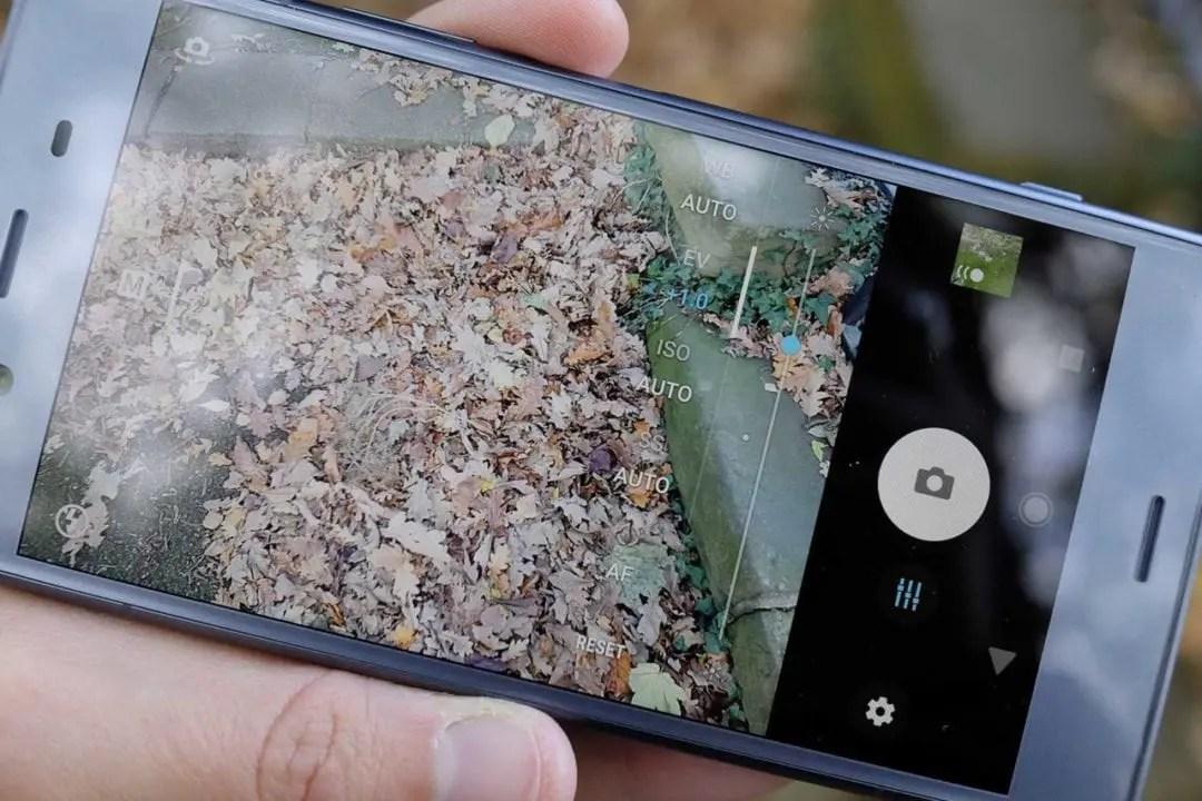Sony Xperia XZ1 camera review: the app