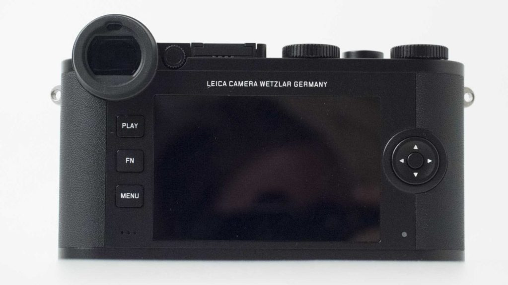 Leica CL Review: Back