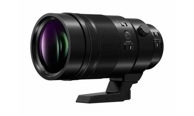 Panasonic launches LEICA DG ELMARIT 200mm f/2.8 Power OIS lens
