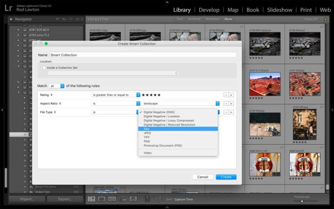 Lightroom Classic Review: Importing and organising