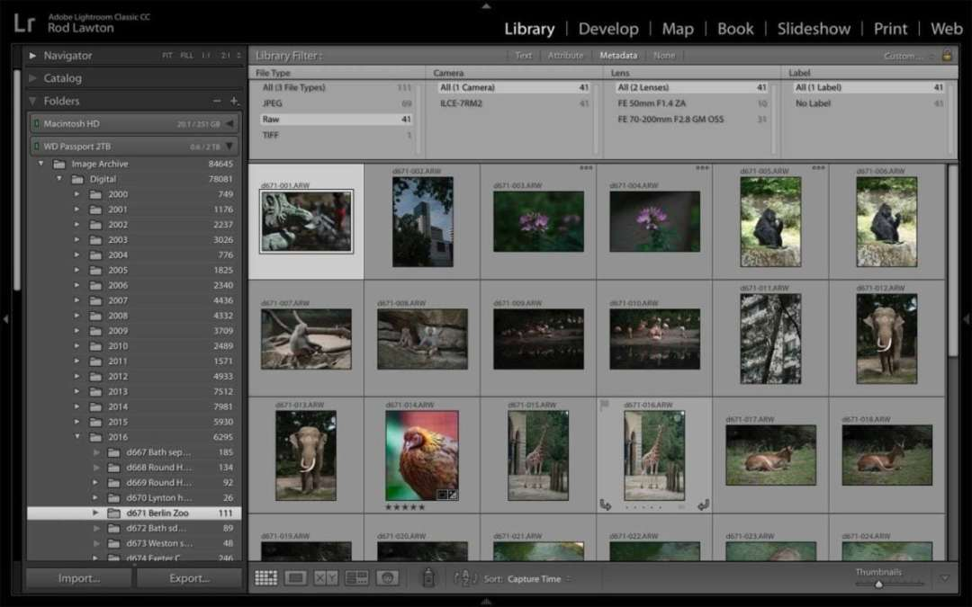 Lightroom Classic Review: organise your images