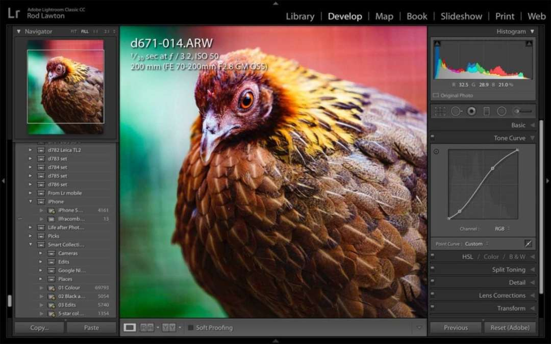 Lightroom Classic Review: editing photos in the Develop module