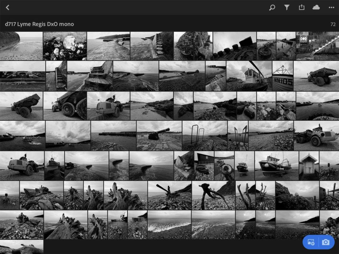 Lightroom Classic Review: Synchronised Collections