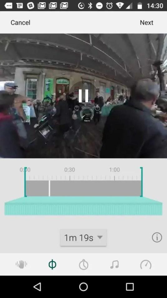 Garmin VIRB 360 review: using the app