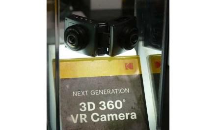 Kodak debuts 8K 360 camera, foldable 3D 360 camera prototypes
