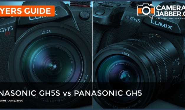 Panasonic GH5S Vs GH5: Key specs compared