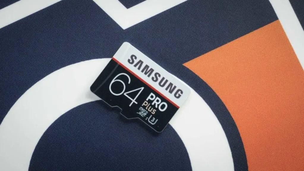 Samsung PRO Plus microSD card Review