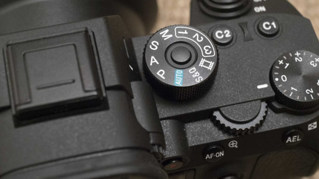 Sony A7R III Review: Control dials