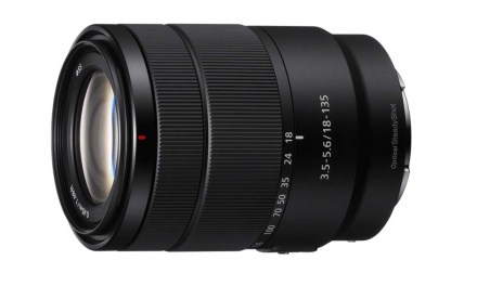 Sony launches E 18-135mm f/3.5-5.6 OSS lens