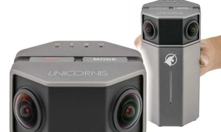 Unicornis 360 camera shoots 4K with realtime stitching, livestreaming
