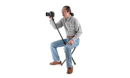 New Chairpod accessory is a tripod with a seat