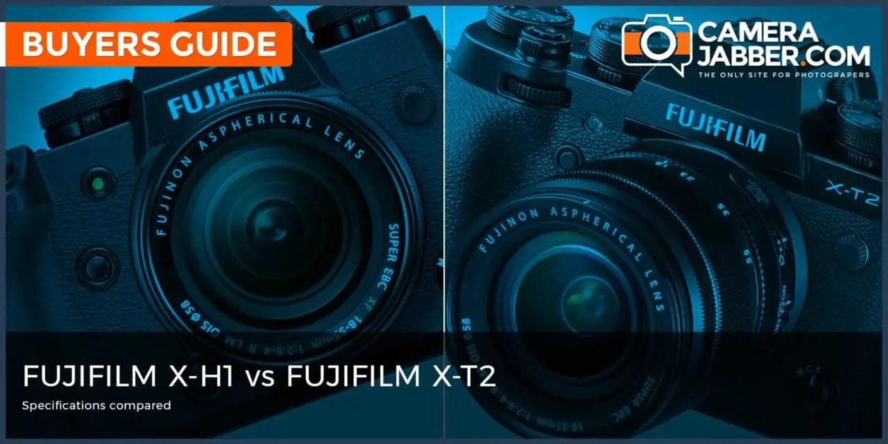 Fujifilm X-H1 vs Fujifilm X-T2: Key Specs Compared