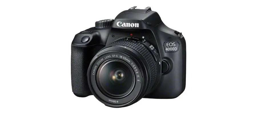 Canon EOS 4000D / Rebel T100: price, specs, release date confirmed