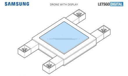 Samsung patents 'flying display device' drone