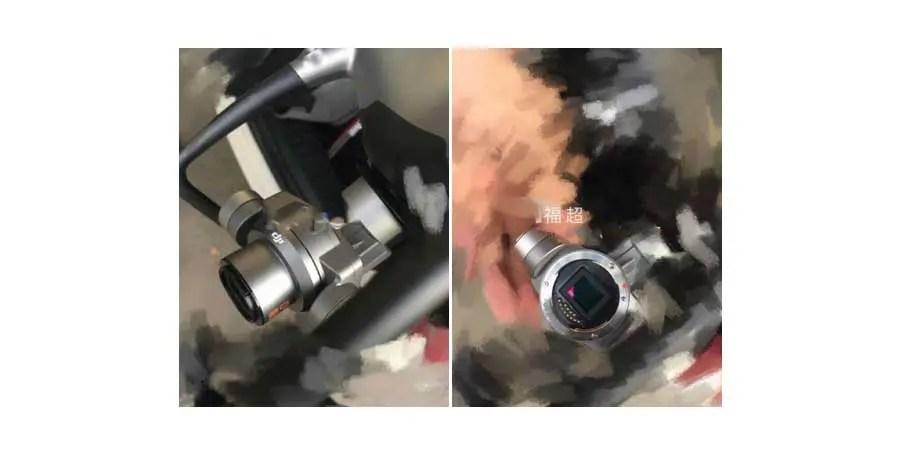 DJI Phantom 5 could boast interchangeable lens camera