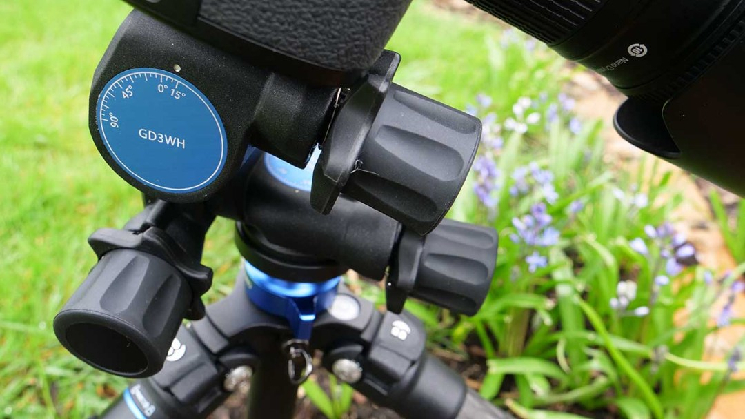 Benro GD3WH geared tripod head review: build quality