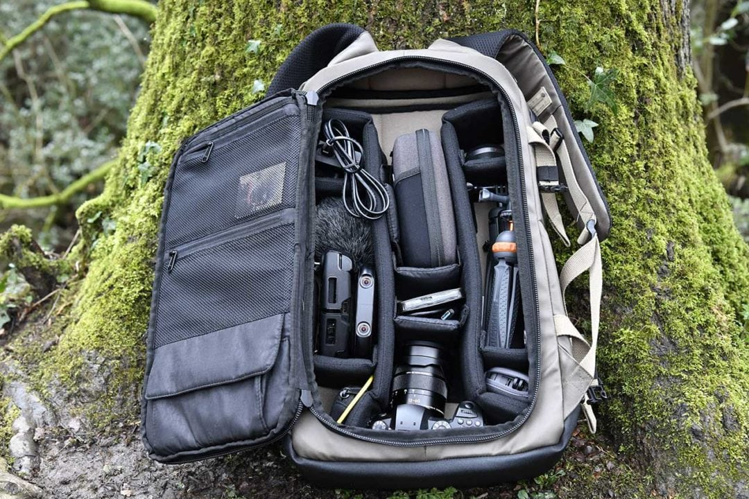 HEX DSLR Backpack Review: Performance
