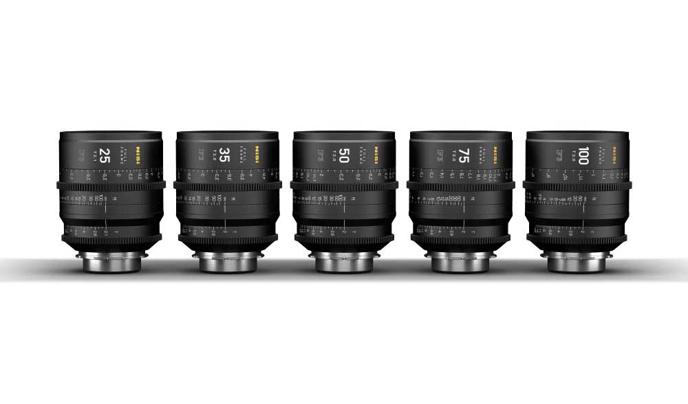 NiSi F3 full-frame lenses now available for purchase