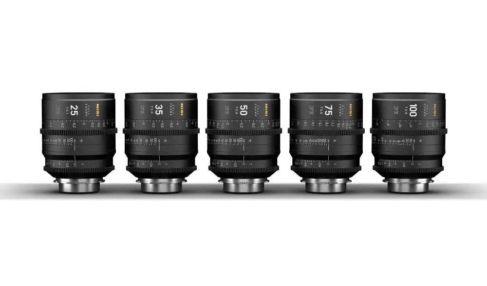 NiSi launches new F3 range of cinema prime lenses