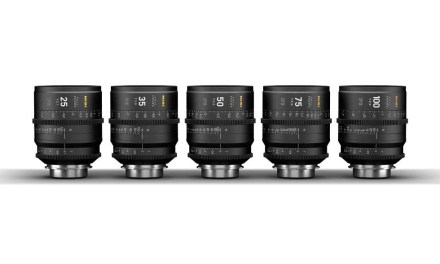 NiSi launches new F3 range of cinema prime lenses