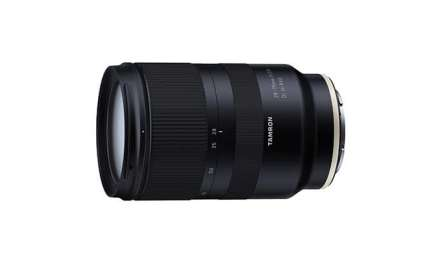 Tamron debuts 28-75mm F/2.8 Di III RXD for Sony E mount
