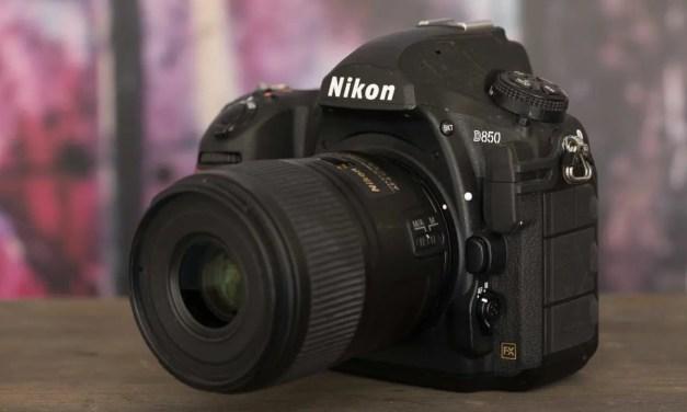 Nikon updates D850, D7500, D5600 firmware