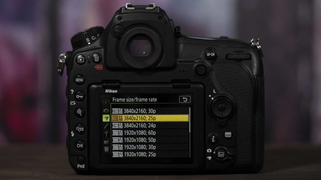 How to set-up Nikon D850 for the first time: Video Resolution