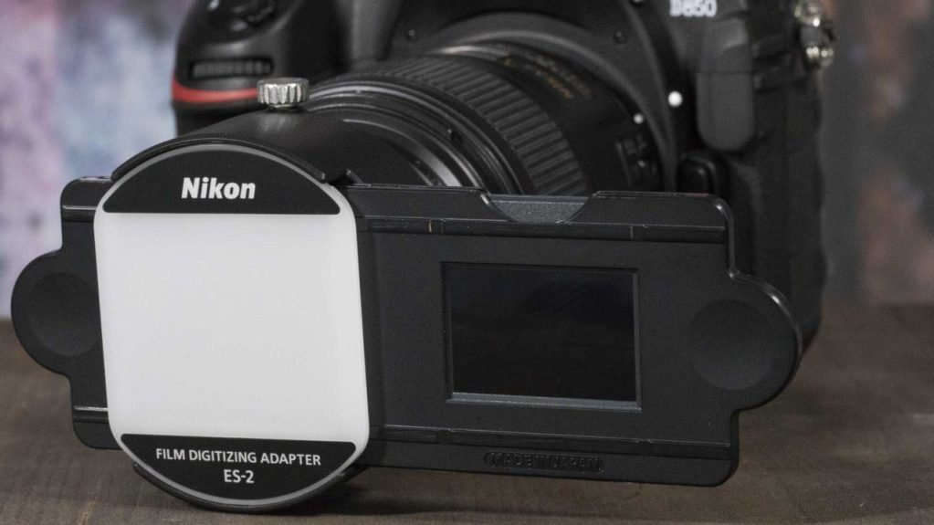 Nikon ES-2 Film Digitizing Adapter