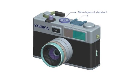 This is what the Yashica digiFilm Camera Y35 will look like