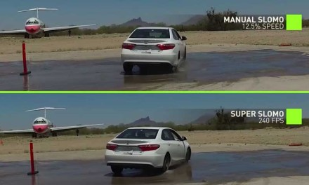NVIDIA AI tech turns 30fps video into 240fps slow-motion footage