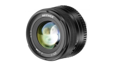 Neewer launches budget 35mm f/1.2 lens for Fuji X, Sony E mounts