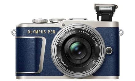 Olympus unveils blue PEN E-PL9