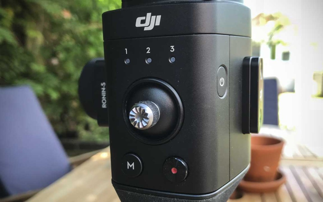 DJI updates Ronin-S with new features for Nikon, Canon, Panasonic, Sony cameras
