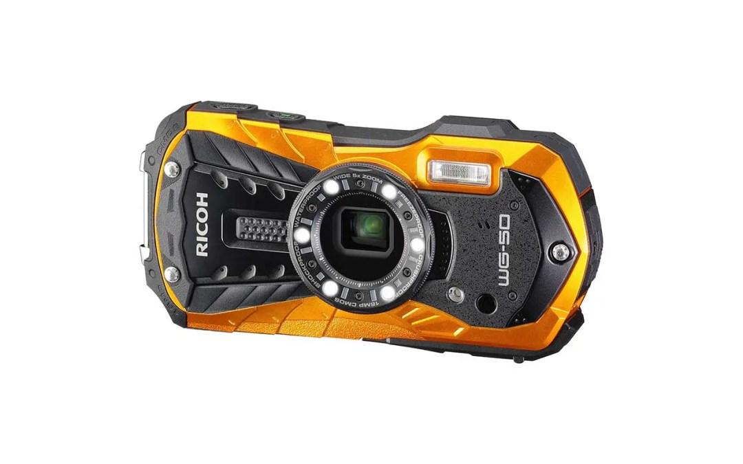 Best waterproof cameras: Ricoh WG-50