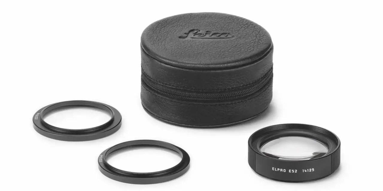 Leica announces Elpro 52 close-up lens attachment for macro