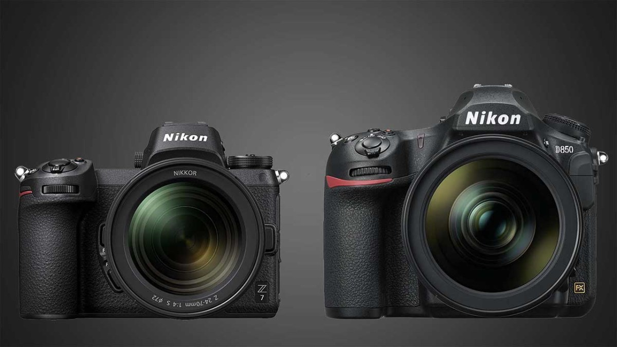 Nikon Z7 vs Nikon D850: which is best?