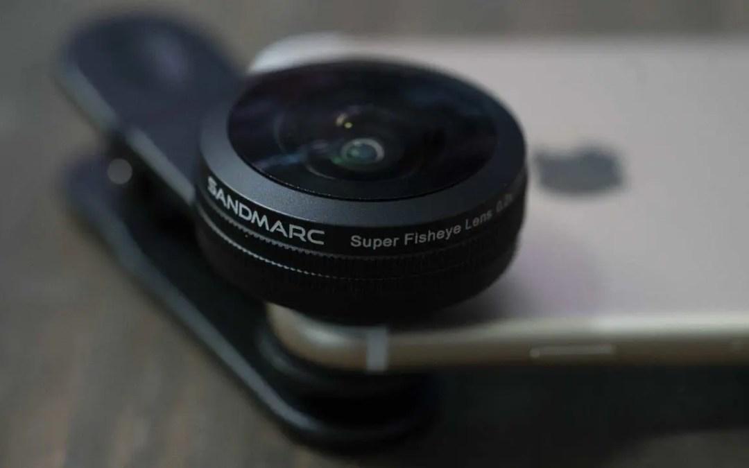 Sandmarc iPhone Fisheye Lens review